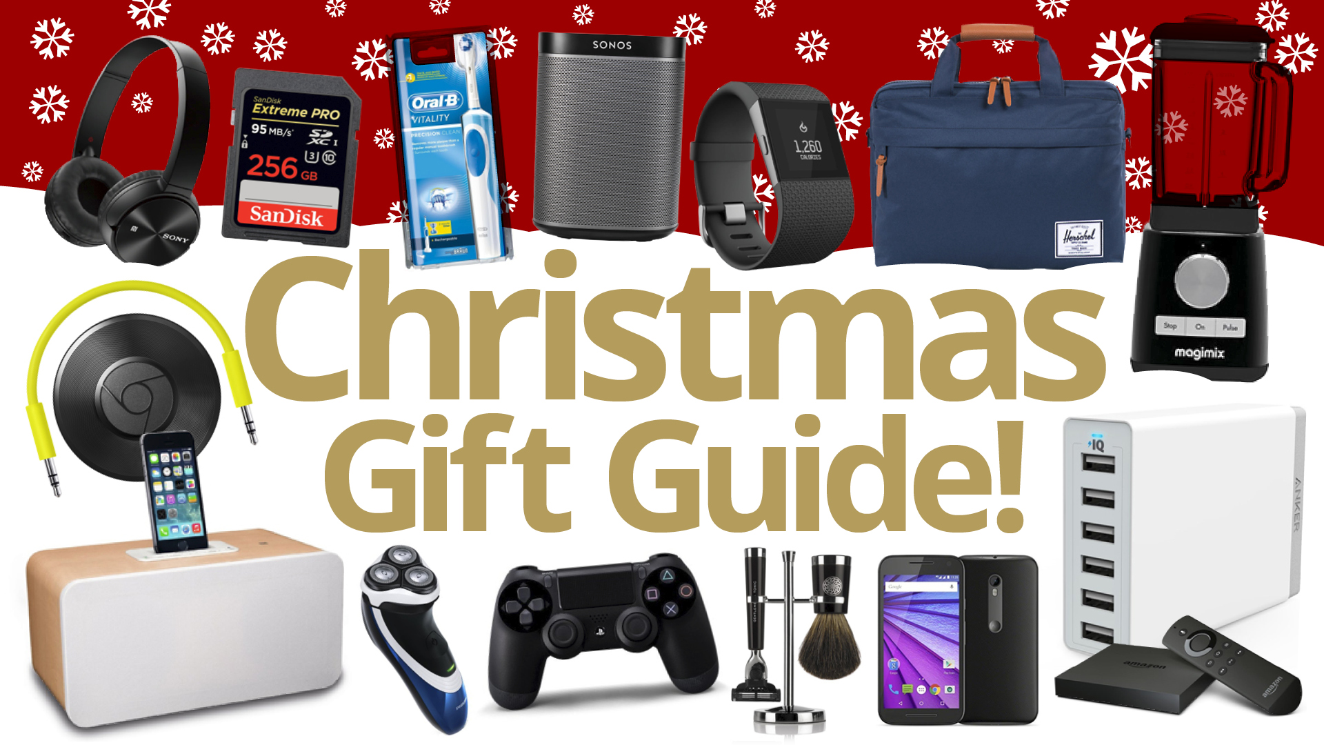 Christmas Gift Ideas: with deals inc. PS4, LG G4, TVs, games, iPhone ...