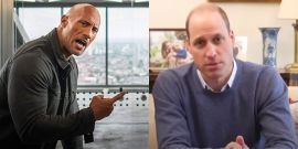 Dwayne Johnson Gives A+ Response To Prince William Being Named World's Sexiest Bald Man