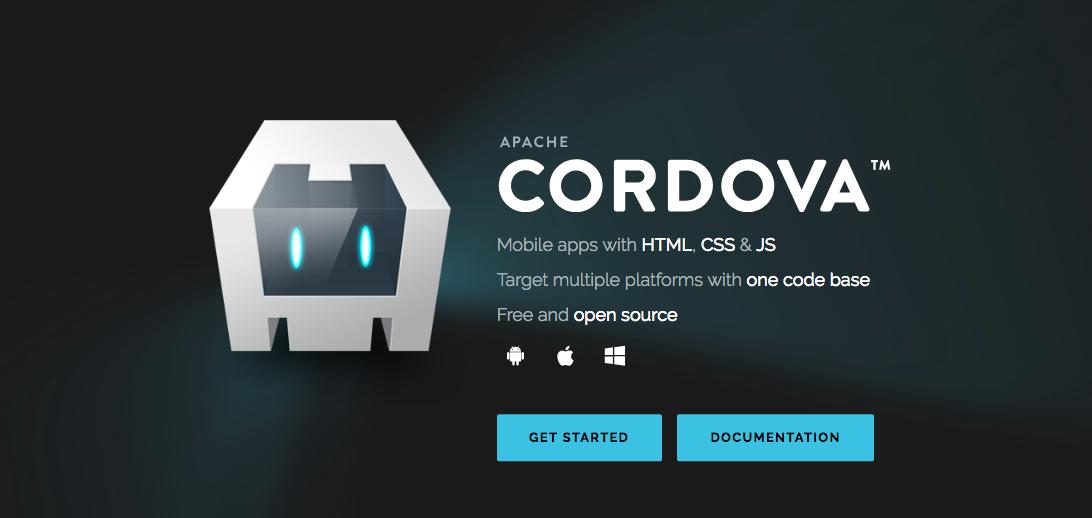 Cordova homepage