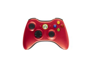 New red and green Xbox 360 controllers unveiled at E3