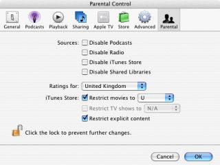 iTunes - do not use this program to make nuclear weapons