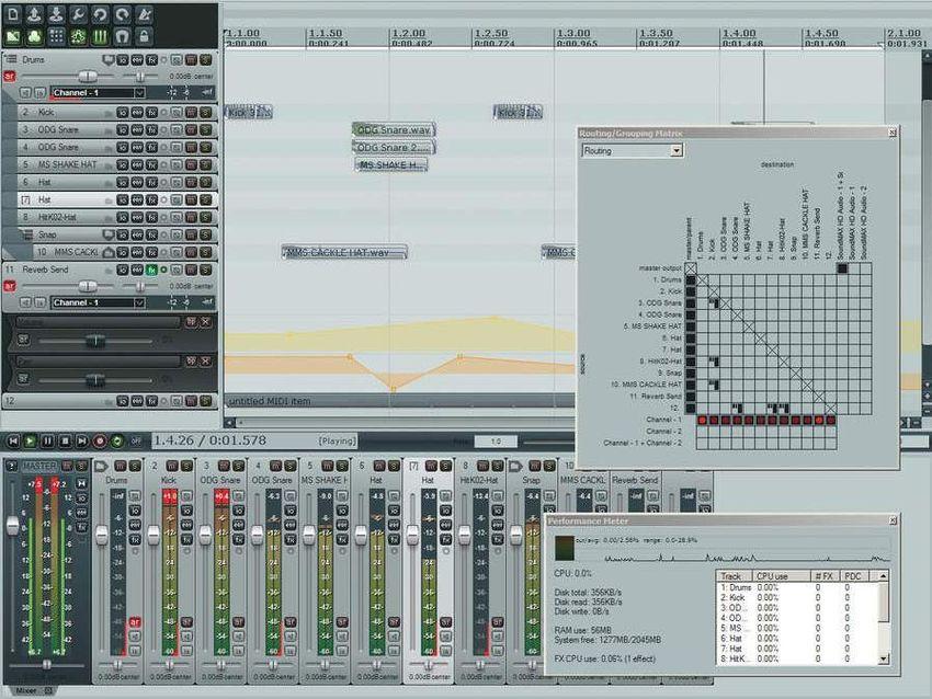 Reaper 4 - Cockos Reaper 4 - Audiofanzine