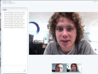 Google+ video chat is proving popular with the kids