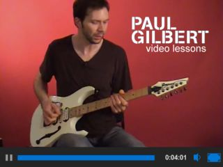 Paul Gilbert at work...