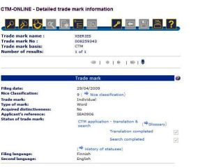 Nokia's trademark application - thrilling