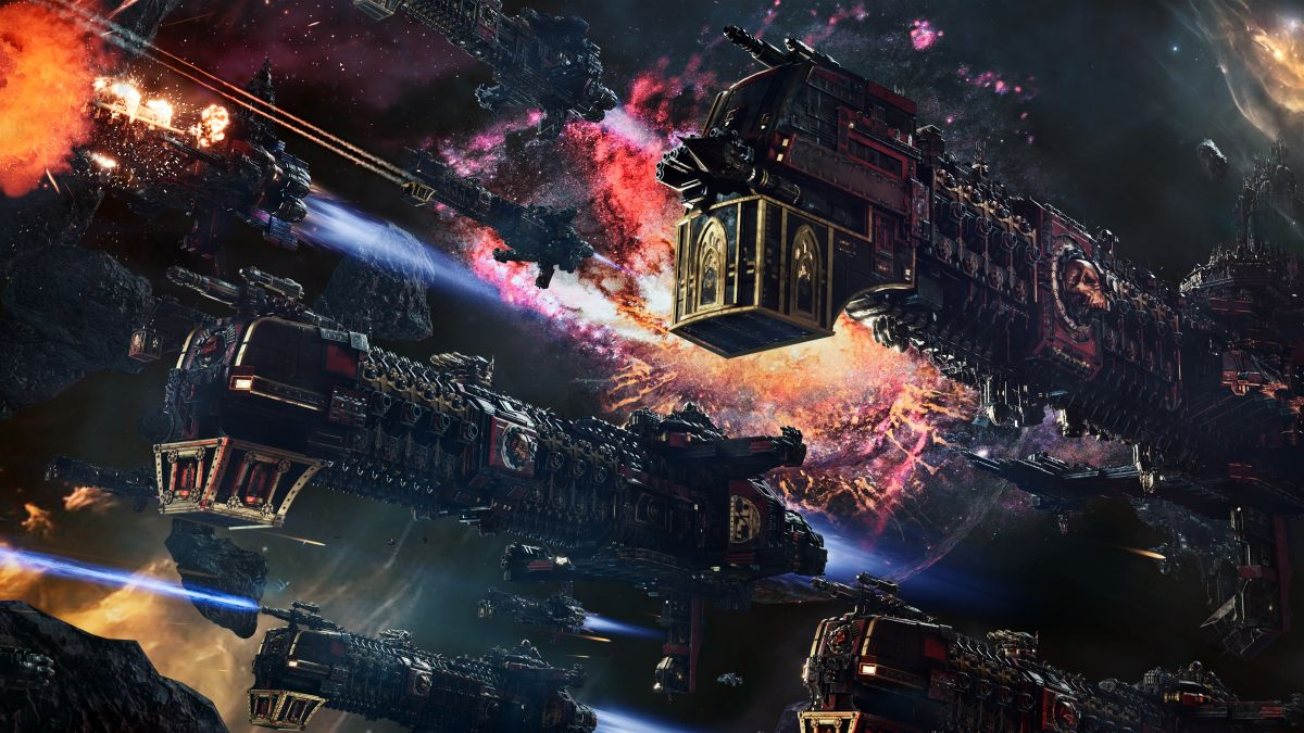 Battlefleet Gothic: Armada 2 is free to play on Steam this weekend