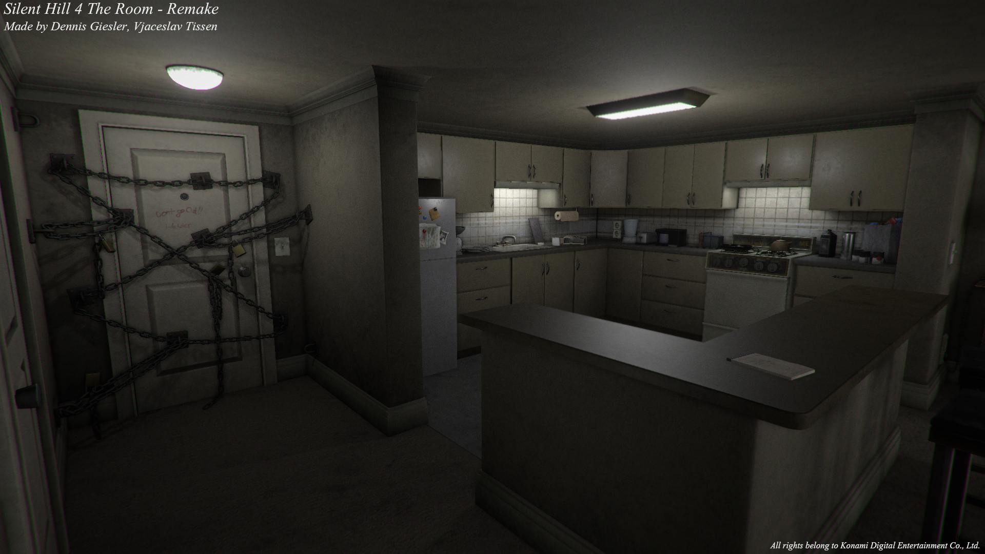 Silent Hill 4 S Creepy Apartment Recreated In Unity Pc Gamer