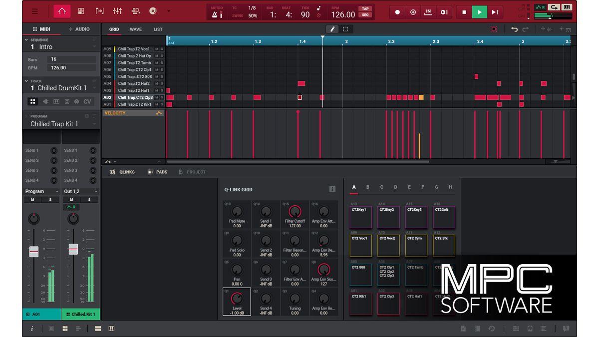Namm 2017 Akai Pro S Mpc 2 0 Software Looks Like It Has A