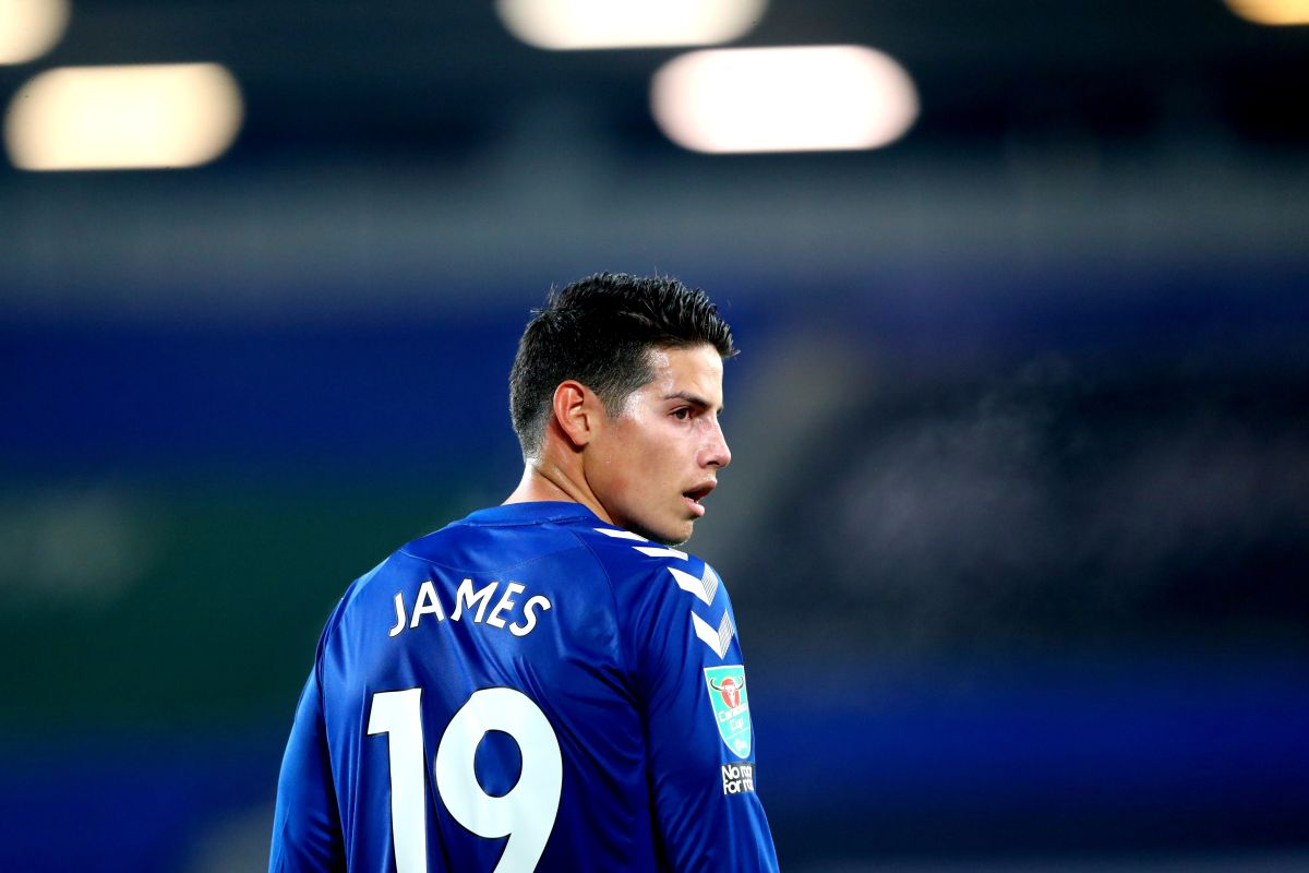 Everton's James Rodriguez set to have talks about move to Qatar