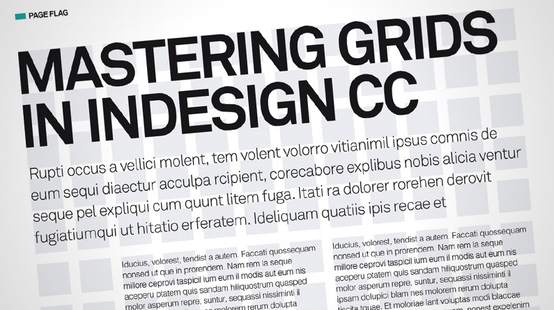 Mastering Grids In Indesign Cc Creative Bloq
