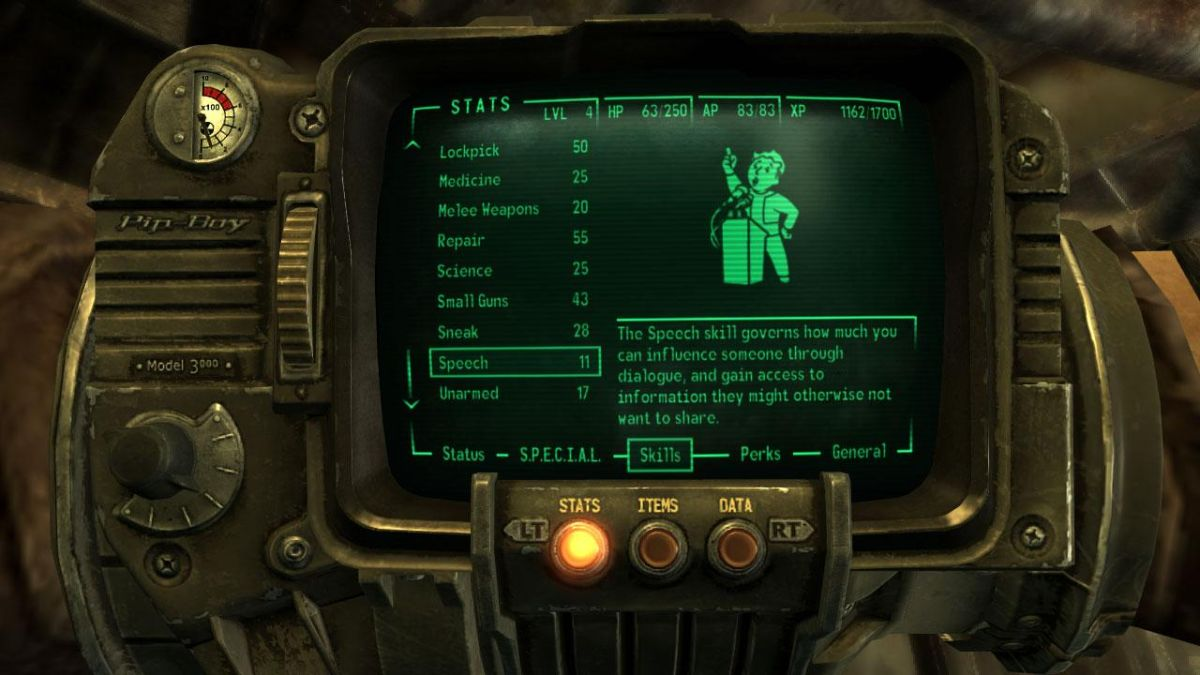 Fallout 3 Leveln