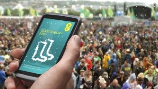 Bye bye battery EE adds 4G to the Glastonbury line up