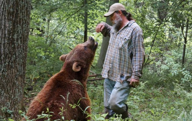 Jeff Watson has been 'Momma Bear' to Bob and Screech for four years, after rescuing them from a bear park in Georgia
