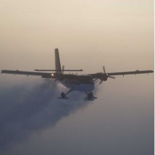Twin Otters Antarctic rescue
