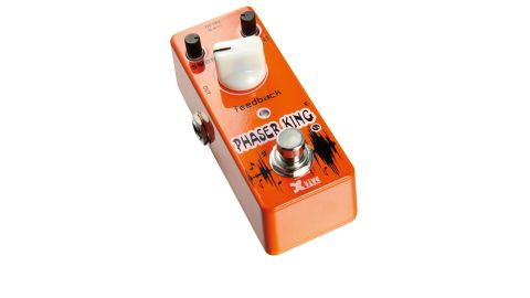 The Phaser King recalls classic 10-stage phasers like the MXR Phase 100