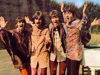 The Beatles roll up in new footage