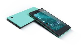 The newly unveiled Jolla smartphone