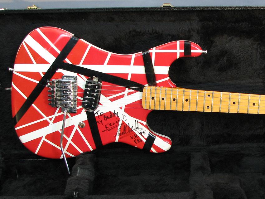 Eddie Van Halens Stage Played 5150 Guitar For Auction