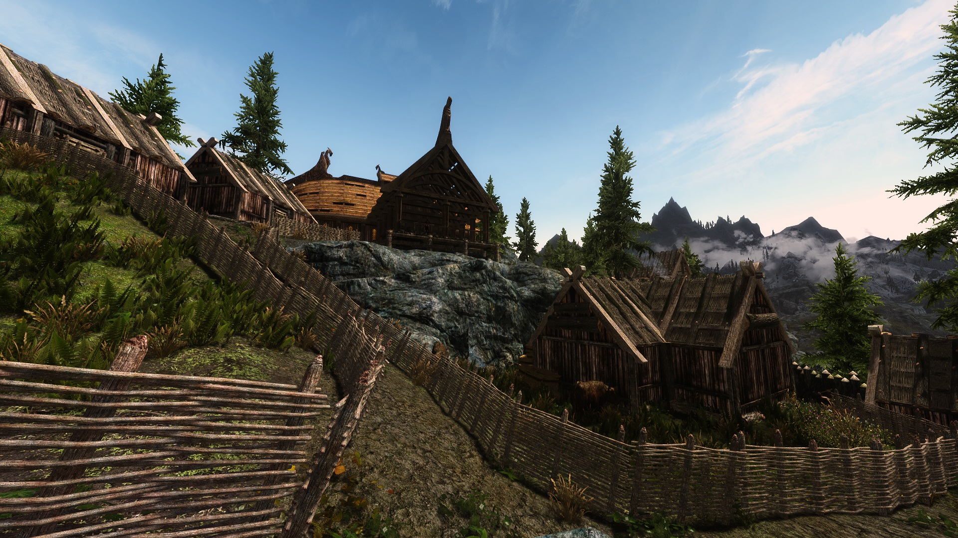 Colossal Skyrim mod turns towns into cities