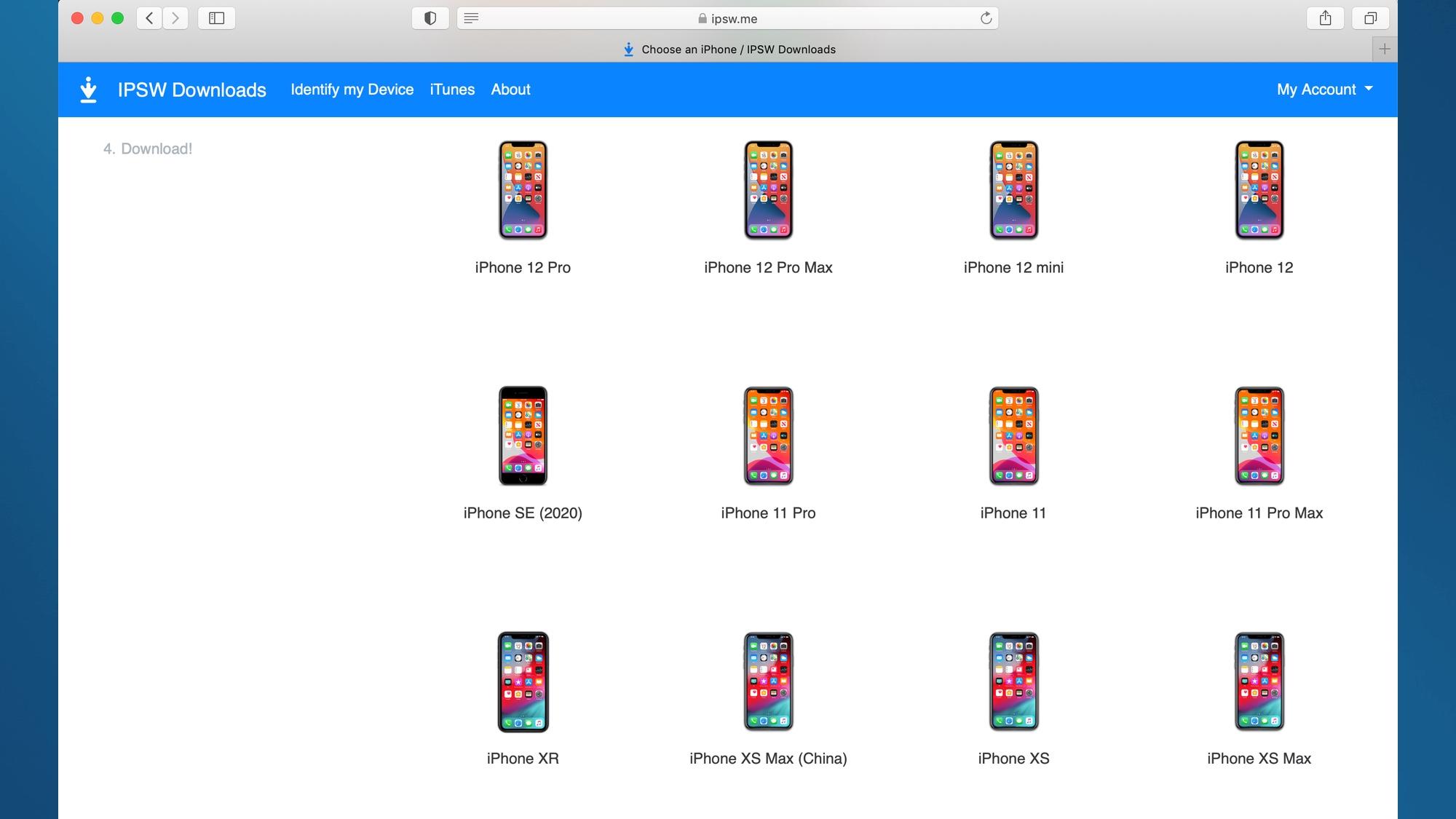 как перейти на более раннюю версию iOS найти свой iPhone