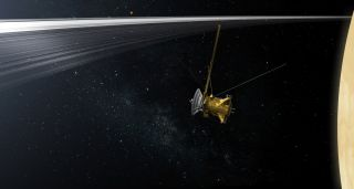 Cassini Spacecraft's 'Grand Finale' at Saturn