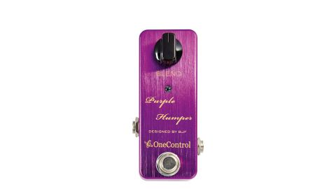 There's up to 15dB of midrange boost, delivered via a single Blend knob