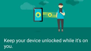 Android on-body unlock