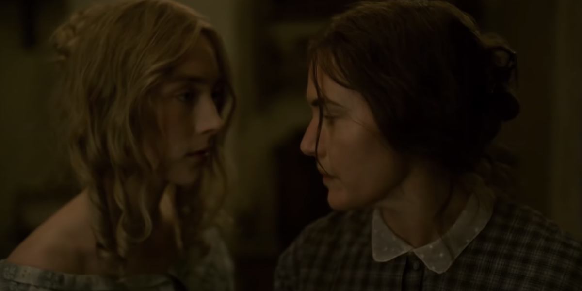 Saoirse Ronan and Kate Winslet in Ammonite