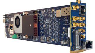 VITEC has announced the MGW Diamond OG, a 4K/Multichannel HEVC encoder in an openGear (OG) card format.