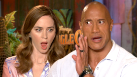 'Jungle Cruise' Interviews With Dwayne Johnson, Emily Blunt And More!