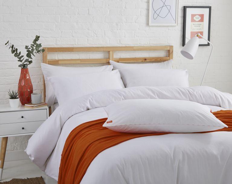 Best duvet: Nanu duvet on bed in bedroom