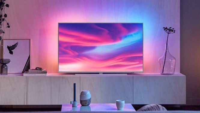 Amazon cuts the price of this 4K Philips Ambilight TV in half for today only