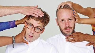 Basement Jaxx: Felix Buxton (left) and Simon Ratcliffe (right).