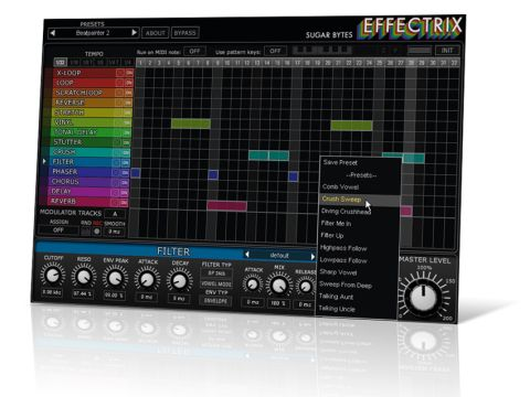Effectrix enables you to sequence your effects.