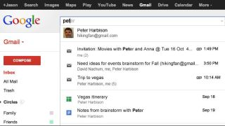 Google Gmail search trial