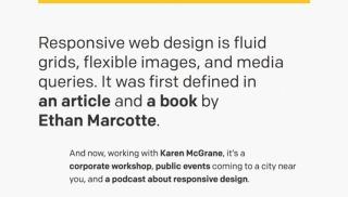 This site shows exactly how responsive web design should be done