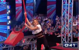 See ex-TOWIE star Lydia Bright taking on TV's toughest obstacle course on Ninja Warrior UK