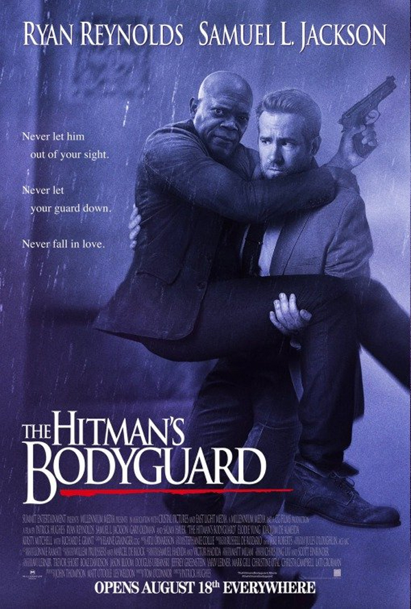 The Hitman's Bodyguard Poster Bodyguard Parody