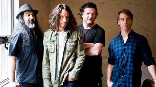A press shot of Soundgarden