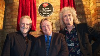 Memories of Queen's early days were stirred at yesterday's plaque unveiling