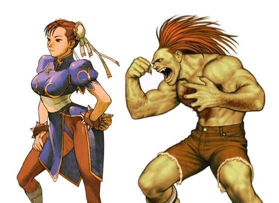Street Fighter Week The Evolution Of Chun Li And Blanka Gamesradar