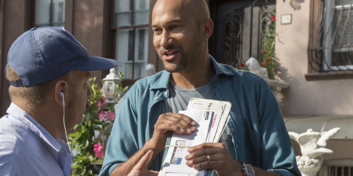Keegan-Michael Key as Ethan in Friends from College on Netflix.