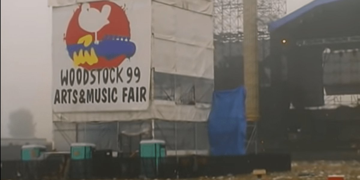The morning after Woodstock '99