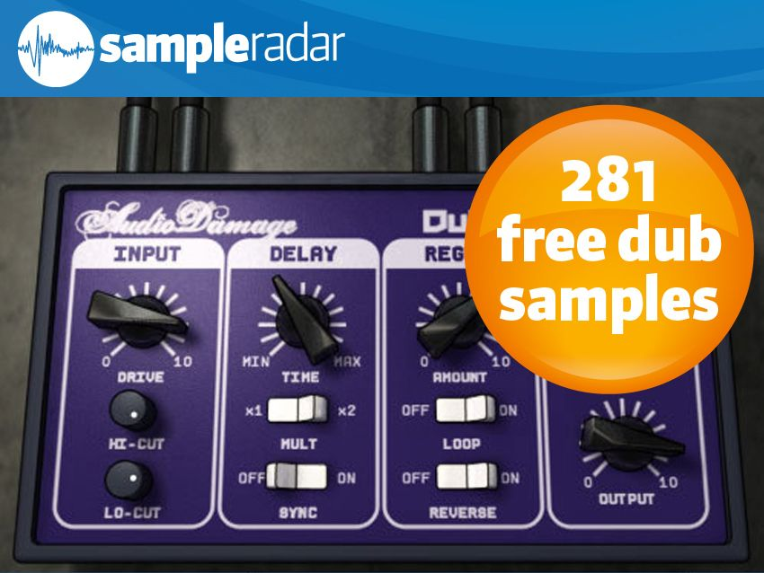 SampleRadar: 281 free dub samples | MusicRadar