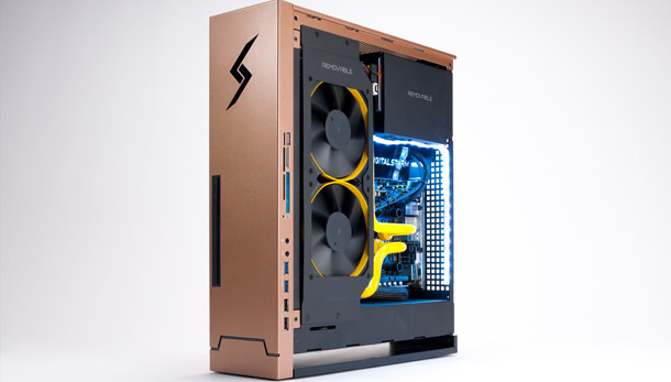 we built the large pixel collider jr an insane gaming pc for the