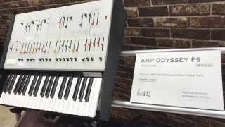 It looks real, but there's no official word from Korg regarding the ARP Odyssey FS.