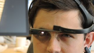 Google Glass mind control