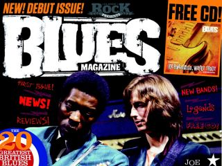 Buddy Guy is the cover star of issue one of The Blues