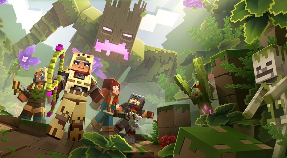 The first Minecraft Dungeons DLC is Jungle Awakens, due July | PC ...