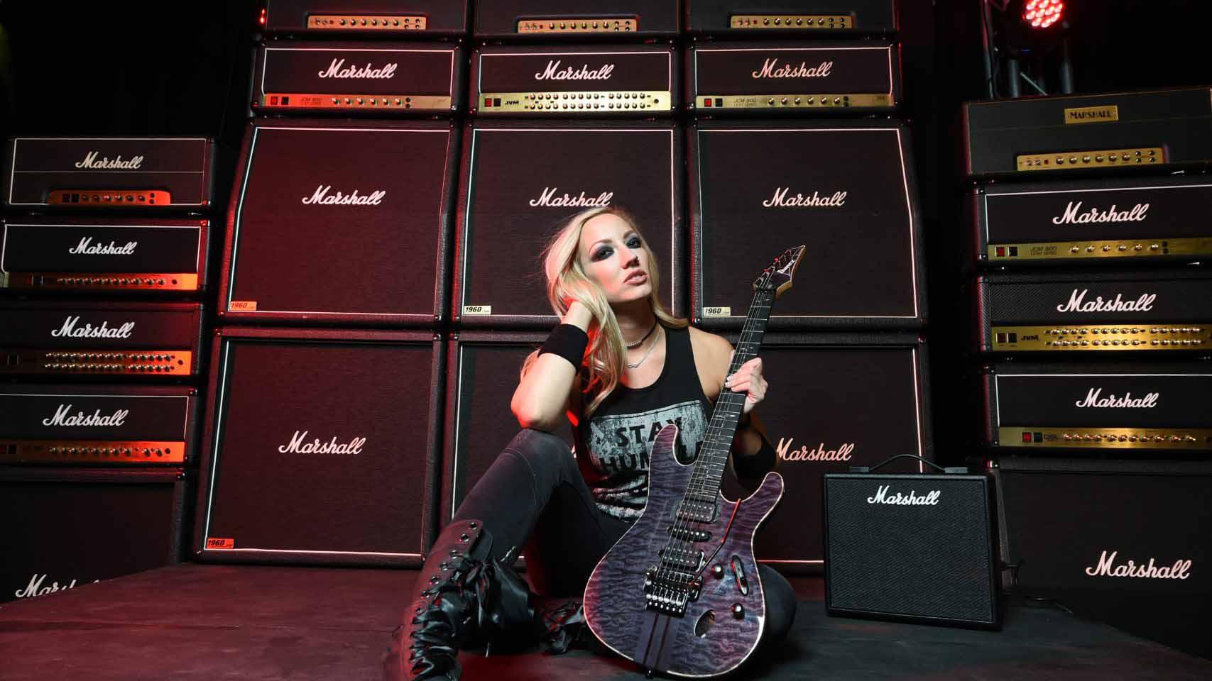 Nita Strauss signs with Marshall Amps | MusicRadar